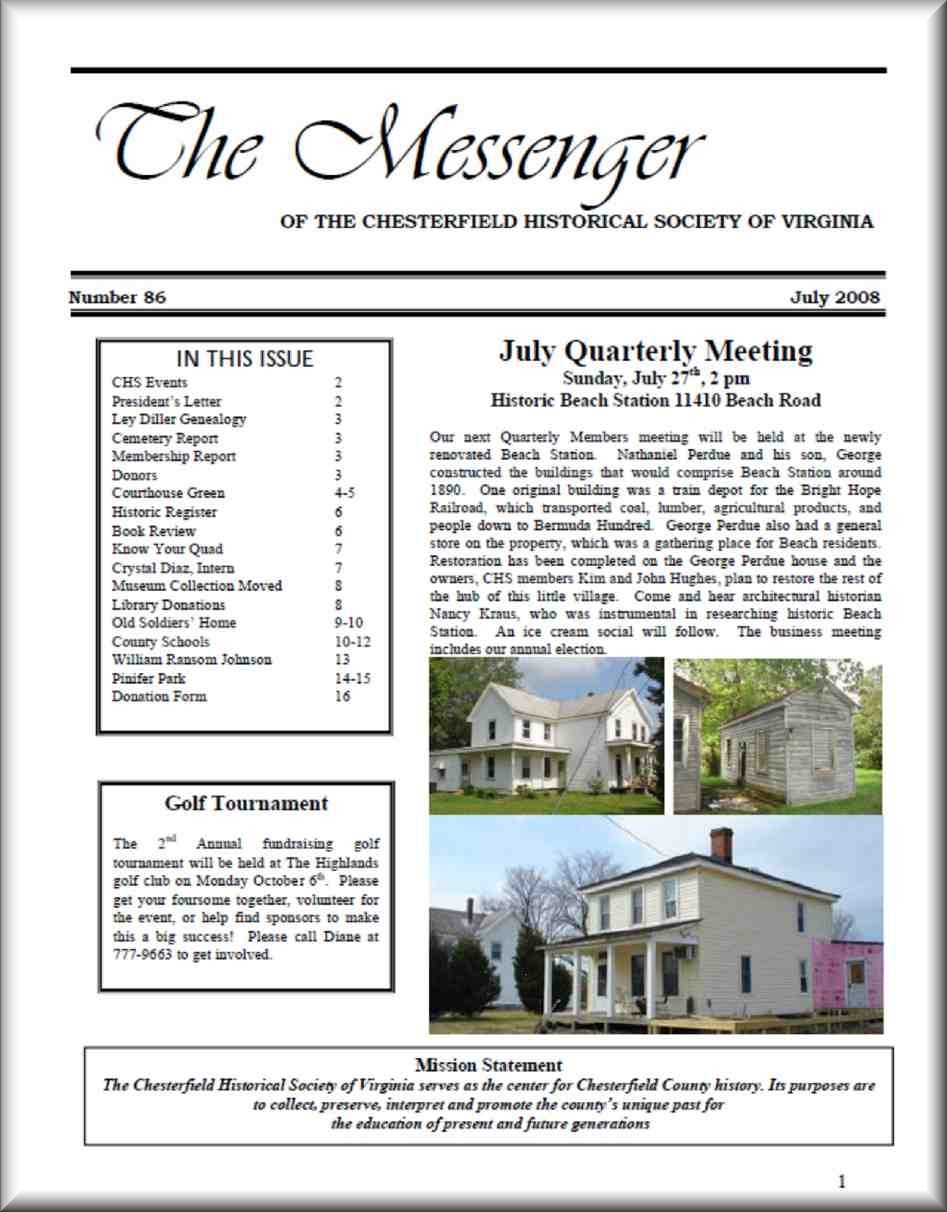 Messenger Newsleetter